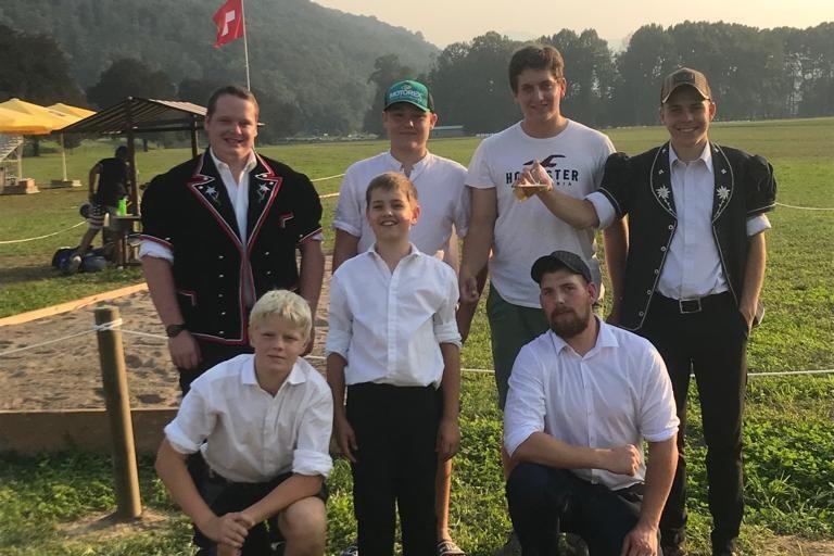 Sportlicher Saisonabschluss vom Schwingklub Oberwallis